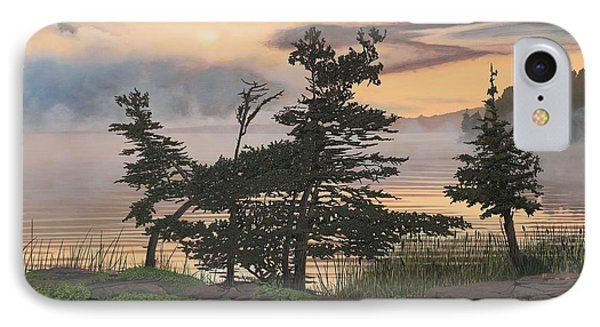 Auburn Evening Phone Case by Kenneth M  Kirsch