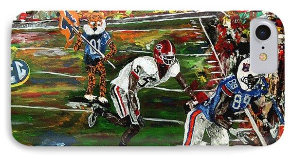 Auburn Georgia Football  Phone Case by Mark Moore