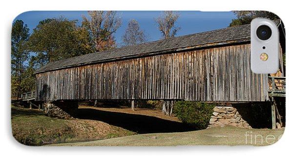 Auchumpkee Creek Bridge IPhone Case by Donna Brown