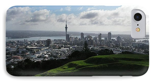 Auckland With Mt. Eden Phone Case by David and Mandy