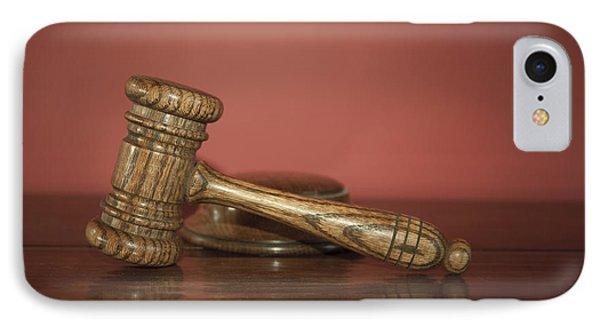 Auction Hammer Phone Case by Svetlana Sewell