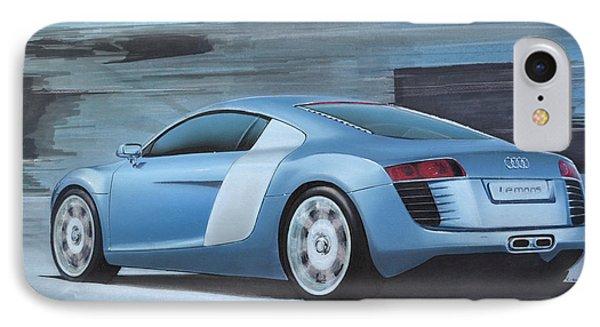 Audi R8 Lemans Concept Phone Case by Paul Kuras