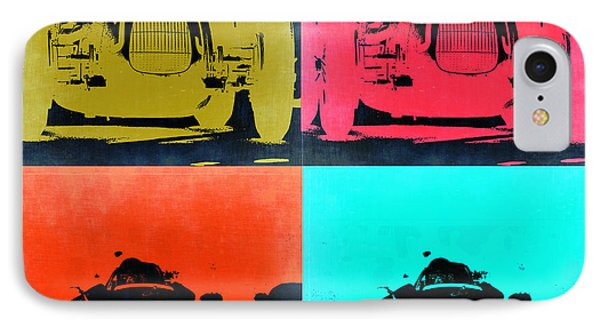 Audi Silver Arrow Pop Art 2 IPhone Case by Naxart Studio