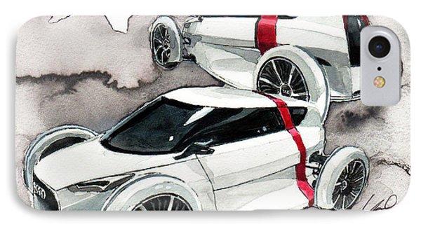 Audi Urban Concept IPhone Case by Yoshiharu Miyakawa
