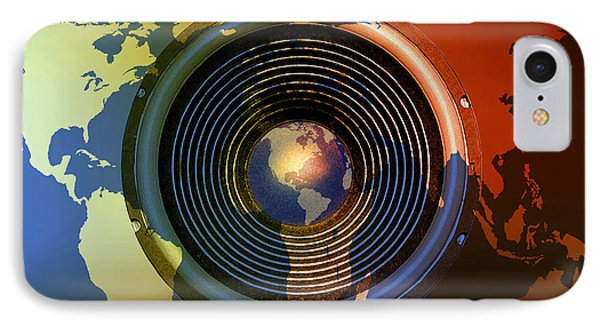 Audio World IPhone Case