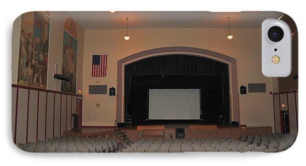 Auditorium In Clare Michigan IPhone Case by Terri Gostola