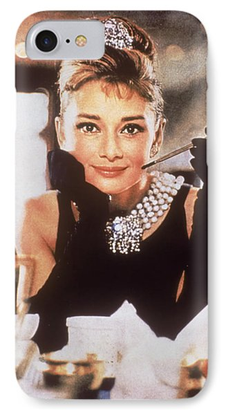 Audrey Hepburn IPhone 7 Case by Georgia Fowler