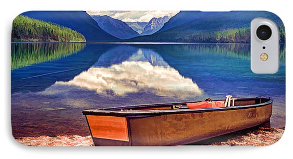 August Afternoon At The Lake IPhone Case by Jaki Miller