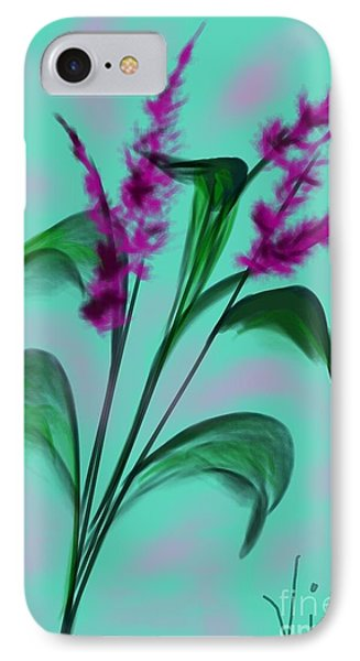 August Bouquet IPhone Case by Judy Via-Wolff