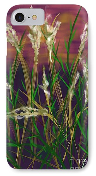 August Breath IPhone Case by Judy Via-Wolff