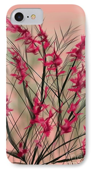 August Flowers IPhone Case by Judy Via-Wolff