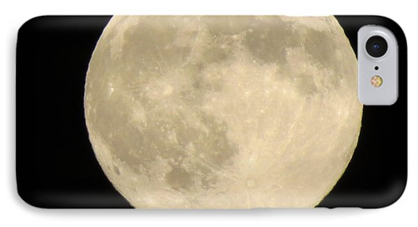 August Full Moon IPhone Case by Kathy Long