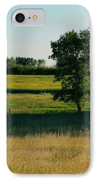August In Tugaske IPhone Case by Ellery Russell