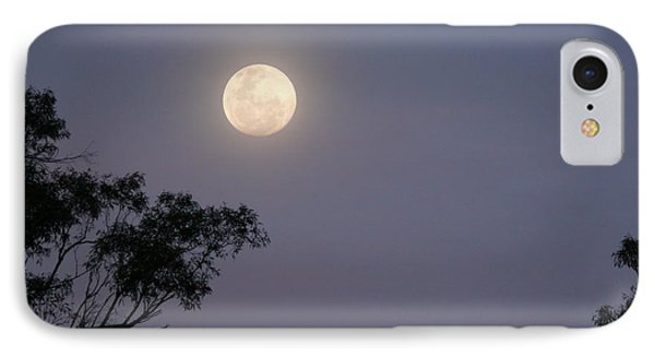 IPhone Case featuring the photograph August Moon by Evelyn Tambour