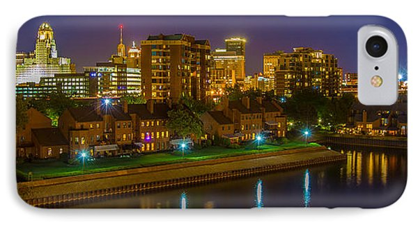 August Night In Buffalo IPhone Case by Don Nieman