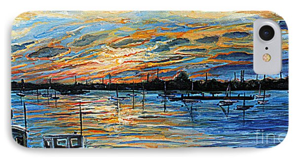 August Sunset In Woods Hole Phone Case by Rita Brown