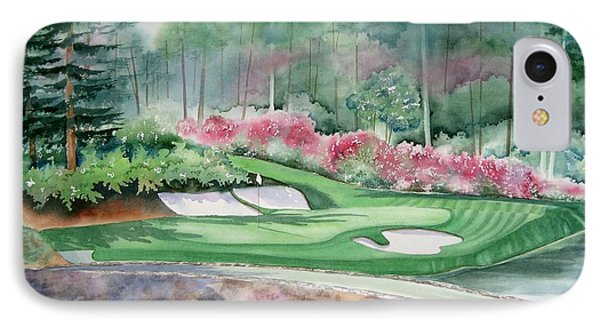 Augusta National 12th Hole IPhone Case by Deborah Ronglien