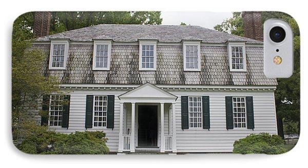 Augustine Moore House Yorktown Virginia IPhone Case