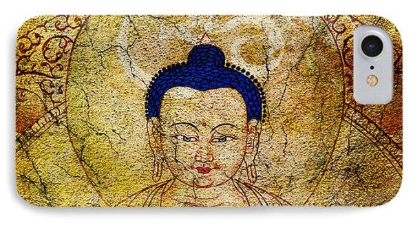 Aum Buddha Phone Case by Tim Gainey