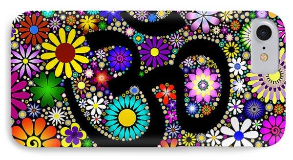 Aum Flowers IPhone Case