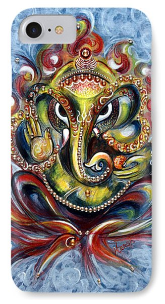 Aum Ganesha IPhone Case by Harsh Malik
