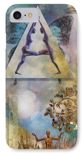 IPhone Case featuring the digital art Aum by Nola Lee Kelsey