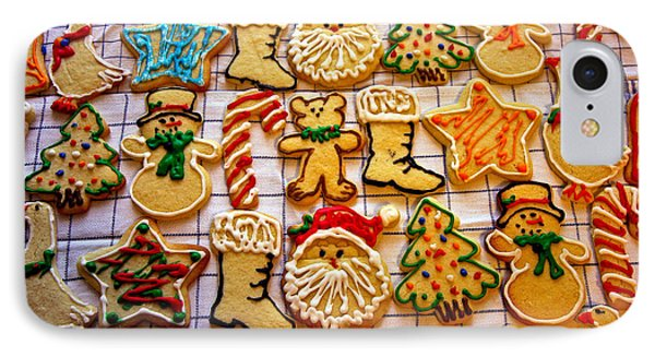 Aunt Tc's Christmas Cookies Phone Case by Mitch Shindelbower