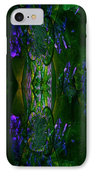 IPhone Case featuring the painting Aura Iphone Case by Robert Kernodle