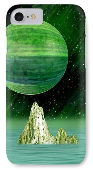 Aurora Borealis Phone Case by Piero Lucia