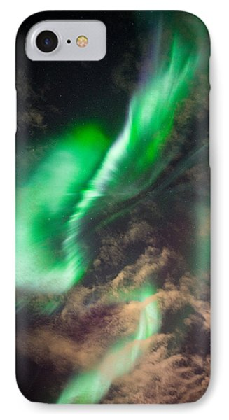 Fast Moving Corona Over Eielson IPhone Case