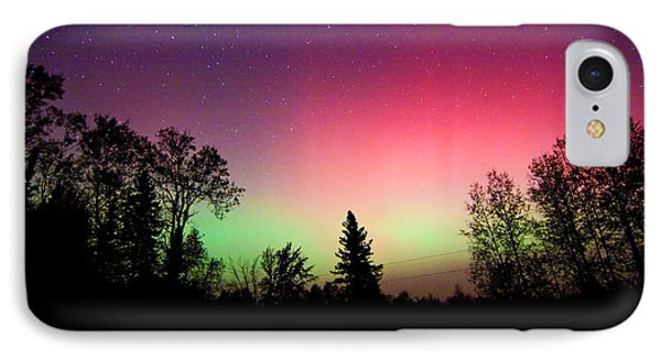 Aurora In Autumn IPhone Case