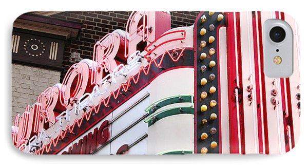 Aurora Theater Marquee IPhone Case