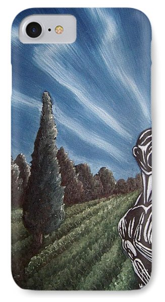 IPhone Case featuring the painting Aurora by Michael  TMAD Finney