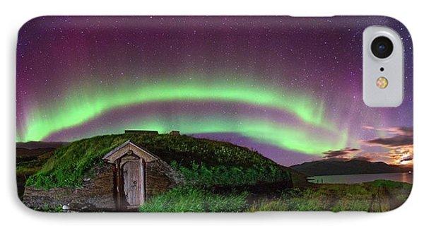 Auroral Over Viking House IPhone Case by Juan Carlos Casado (starryearth.com)
