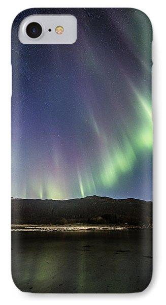 Auroras And Stars IPhone Case