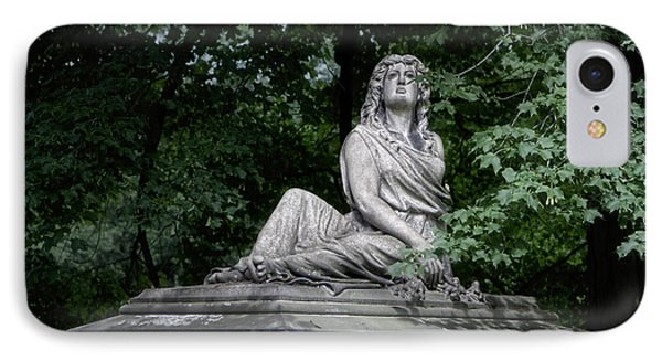 Aurther Haserot Monument IPhone Case by Tom Mc Nemar