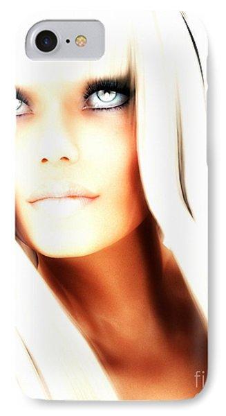 IPhone Case featuring the digital art Aurya by Sandra Bauser Digital Art