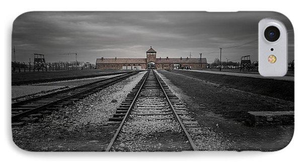 Auschwitz-birkenau IPhone Case