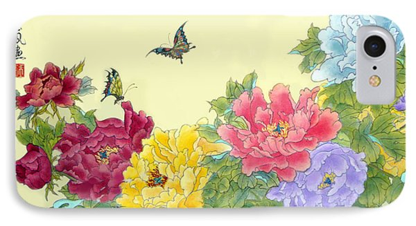 Auspicious Spring IPhone Case by Yufeng Wang