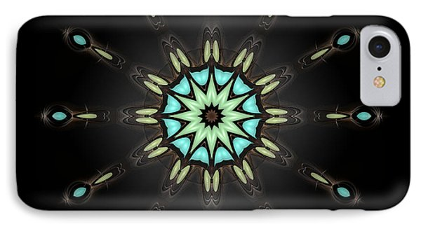 IPhone Case featuring the digital art Auspicious Star by Hanza Turgul