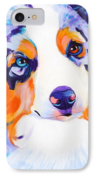 Aussie - Merlee IPhone Case by Alicia VanNoy Call
