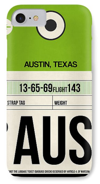 Austin Airport Poster 1 IPhone Case