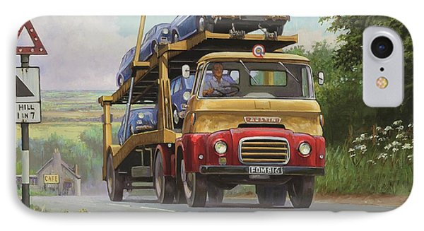 Austin Carrimore Transporter Phone Case by Mike  Jeffries