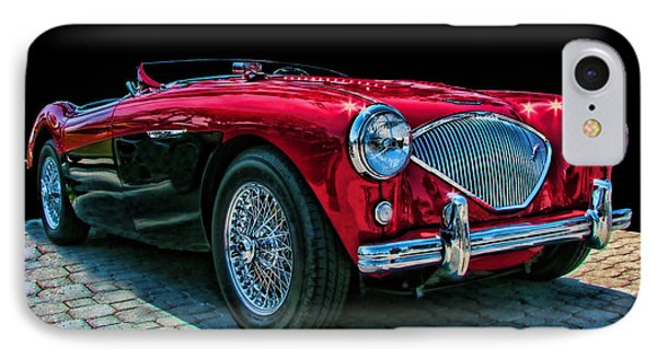 Austin Healey 100m IPhone Case by Samuel Sheats