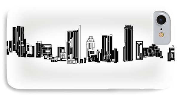 Austin Skyline II IPhone Case by Sheep McTavish