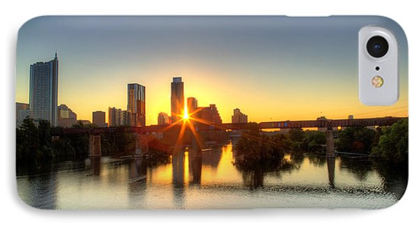 Austin Sunrise IPhone Case by Dave Files