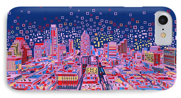 Austin Texas Abstract Panorama IPhone 7 Case