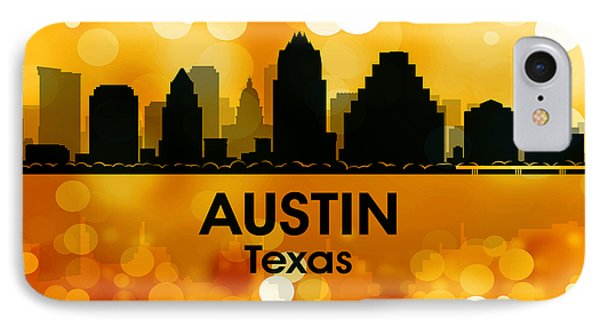 Austin Tx 3 IPhone Case