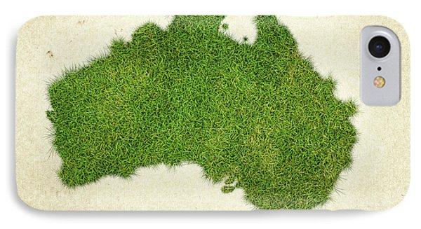 Australia Grass Map IPhone Case