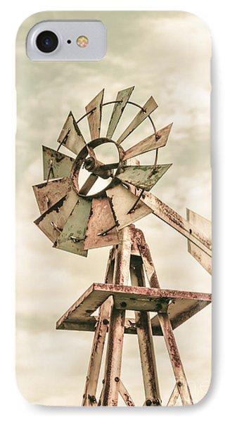 Australian Aermotor Windmill IPhone Case
